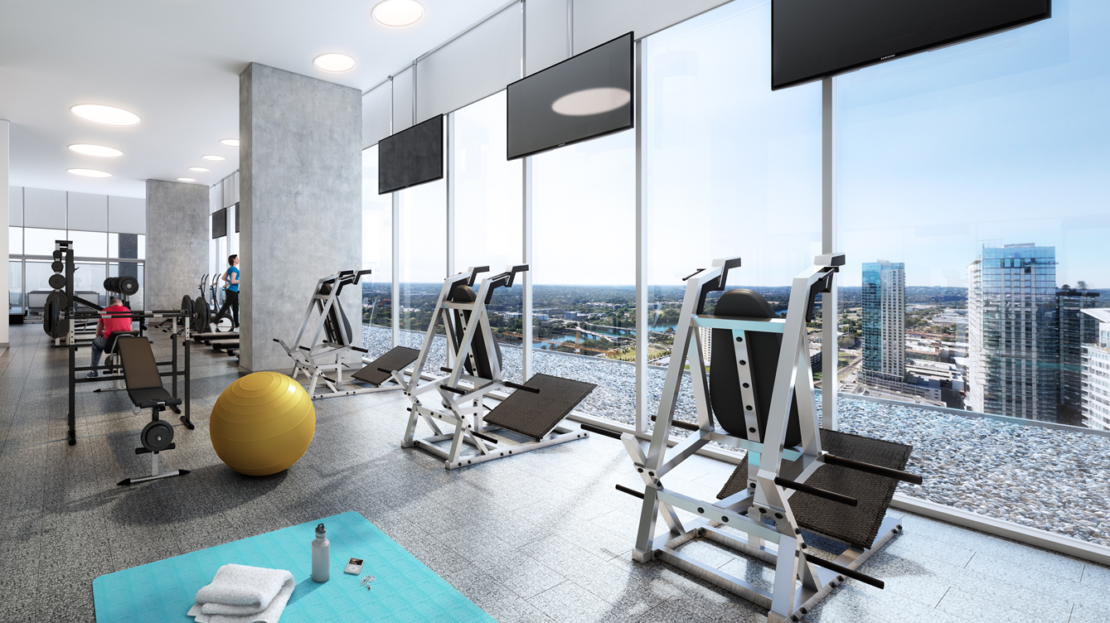 The Austonian Gym