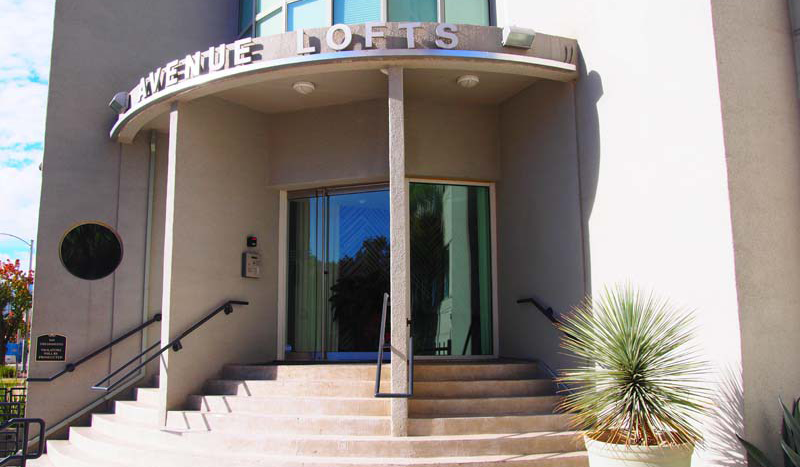 Avenue Lofts Entrance