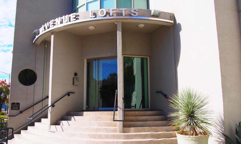Avenue Lofts Entrance