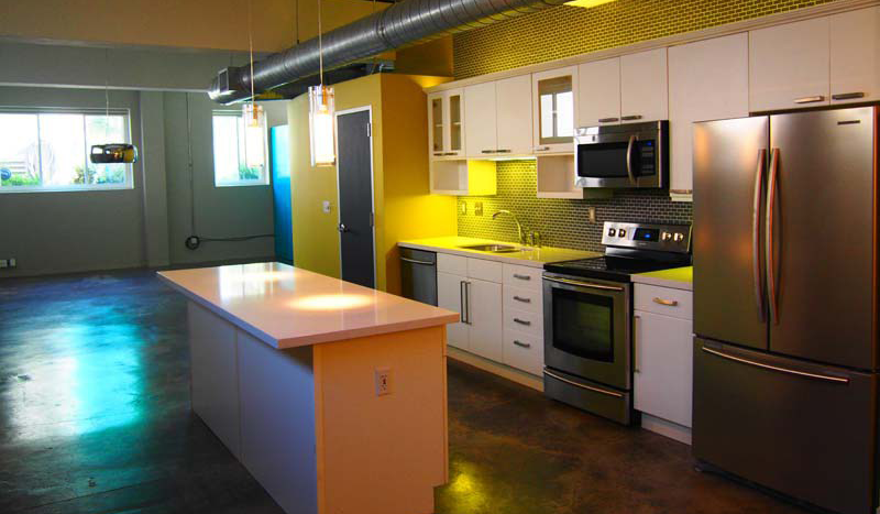 Avenue Lofts Kitchen